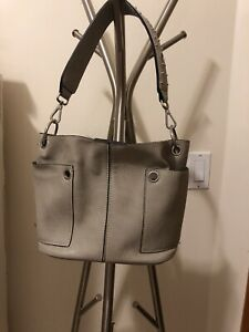 steve madden grey small Size purse