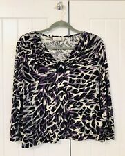 Country Casual, CC, women's top size medium, multicolored