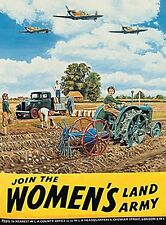 Join The Women's Land Army metal sign (og 4030)