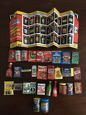 "NEW! 2020 WACKY PACKAGES ""MINIS 3D"" SERIES 1 COMPLETE SET OF 30 COMMONS WAVE 1"