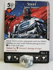 DC Dice Masters - 2x #065 steel super support-world 's Finest