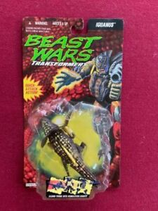 TRANSFORMERS , BEAST WARS ,  Evil PREDACON , IGUANUS on Card