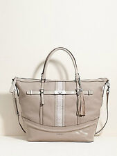 NWT Authentic GUESS Women's Bag Logo Carryall Scent City VY305024 Beige Tote
