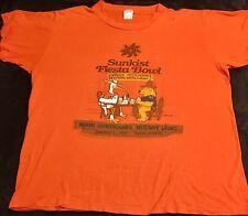 VTG 80s University Miami Hurricanes Football Fiesta Bowl Penn State T-Shirt