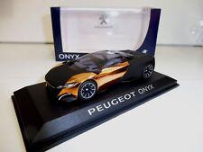 """PEUGEOT ONYX Concept  1/43 Norev """"Groupé votre Livraison"""""""