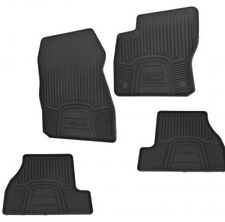 12 thru 18 Focus OEM Genuine Ford Black Vinyl All-Weather Floor Mat Set 4-piece