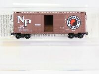 N Scale MTL Micro-Trains 22040 NP Northern Pacific 40' Standard Box Car #8345