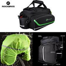 RockBros MTB Bike Bicycle Rear Rack Bag Pannier Bag Trunk Pack Shoulder 10L-35L