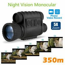 6X50 IR Infrared Night Vision Monocular Telescope For Hunting Bird Watching ~
