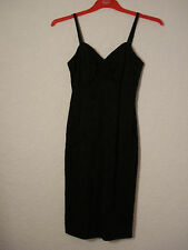 Monsoon Twilight black floral embossed evening/party dress 8