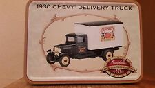 Campbell Soups, ERTL 1930 Chevy Delivery Truck, 1:50, Die-cast Metal-NIB
