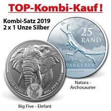 Südafrika - 2019 - Kombi Angebot - Big Five Elefant + Archosaurier