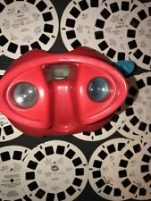Red VIEWMASTER View-Master & 19 Reels - Lion King, Toy Story, Discovery & More