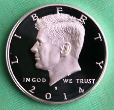 2014 S Proof SILVER Kennedy Half Dollar Coin 50 Cent JFK from US Mint Proof Set