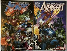 Avengers by Jason Aaron Lot Vol 1 2 TPB Trade Paperback Fine Condition