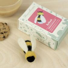 Bumble Bee Broche Aguja Fieltro Kit-Hacer Su Propio-británica de Artesanía Regalo
