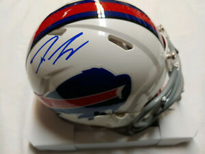Tre'Davious White Signed Buffalo Bills Speed Mini Helmet JSA COA