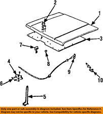 GM OEM Hood-Insulation Pad Liner Heat Shield 12306178
