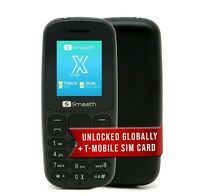 Smooth Snap X Unlocked 2G Phone Celular Desbloquea w/$5 Preloaded SIM (T-Mobile)