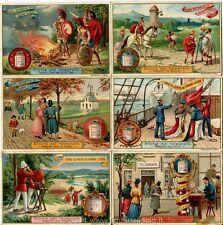 Chromo Liebig Sang. 537 ITA Storia del Telegrafo ANNO 1897