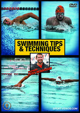 Swimming Tips and Techniques DVD with coach Peter Richardson - Free Shipping