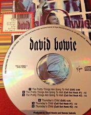 RADIO SHOW: DAVID BOWIE THE PRETTY THINGS ARE GOING TO HELL RARE 1999 PROMO