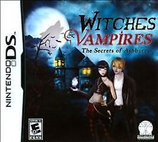 Witches & Vampires Secrets Of Ashburry Ashbury DS Game >Brand New - In Stock<
