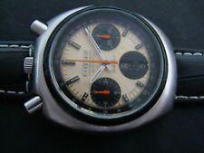 VTGE UNUSUAL CITIZEN BULLHEAD PANDA 8110 CHRONOGRAPH AUTOMATIC WATCH. 70s