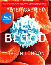 PETER GABRIEL new blood live in london Slip-Cased Blu-ray NEU OVP/Sealed