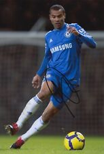 Ashley Cole Hand Signed 12x8 Photo - Chelsea Autograph.
