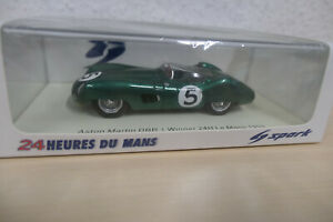 Spark 1:43 - Aston Martin DBR1/300 - Winner Le Mans 1959 - #5 Salvadori / Shelby