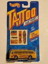 Hot Wheels Tattoo Machines Bus Boys Yellow