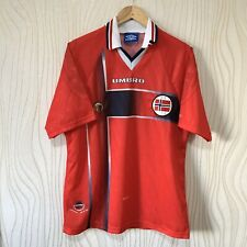 NORWAY 1997 1998 HOME FOOTBALL SHIRT SOCCER JERSEY UMBRO VINTAGE