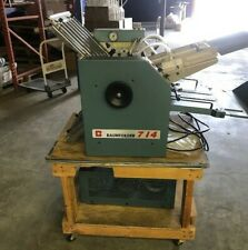 BAUM ULTRA FOLD 714 AIR FOLDER with stand and pump