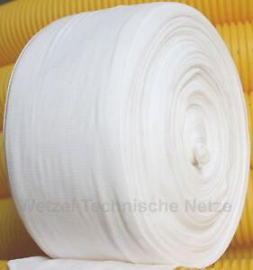 20m F100 Drainagefilterschlauch Drainagevlies für Drainagerohr DN100