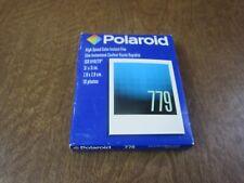 Polaroid 779 Instant color Film 09/2003