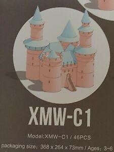 GIK Health Hellocastle Soft Development Building Blocks For Kids 3+ Pink XMW-C1