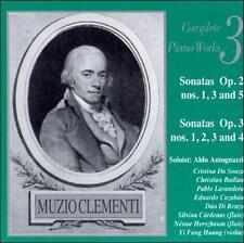 Sonata Op. 3 No. 4 Cazaban, piano Huang, : Muzio Clementi Complete Piano Works