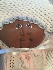Cabbage Patch Soft Scupture 1985 Preemie Edition Little Sweetie Afro American