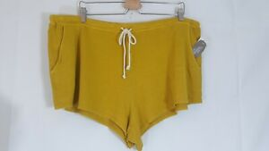 Secret Treasures Women's French Terry  Varies Colors Sleep Drawstring Shorts
