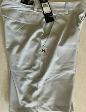 Under Armour Men's UA Storm Mantra Shorts Size 36 Gray/White 1327527 014