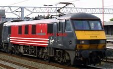 PHOTO  CLASS 90 ELECTRIC 90010  275 RAILWAY SQUADRON (VOLUNTEERS)  AT STAFFORD O