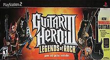 Guitar Hero III Legends Of Rock PS2 Playstation 2 Complete Game