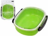 BENTO BOX G & B Lunchbox Green Made in japan