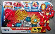 PLAYSKOOL 2012 SUPER HERO ADVENTURES ACTION GEAR IRON MAN SET