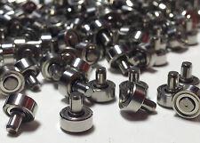 kleine Kugellager mit Achse Zapfen Achslager für Rollenprüfstand Linearschiene
