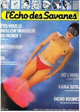 L'ECHO DES SAVANES NOUVELLE SERIE N° 33 1985 TRES BON ETAT