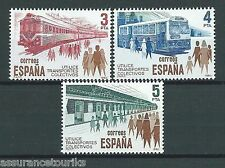 ESPAGNE - TRANSPORTS - 1980 YT 2206 à 2208 - TIMBRES SELLOS NEUFS** LUXE