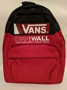 Vans New Mn Old Skool III Backpack Black-Chili Pepper Men's OSFA