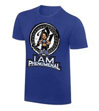 WWE AJ STYLES I am phenomenal cartoon T Shirt mens XL Extra Large RARE